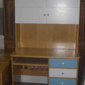 escritorio 1.20 con alzada con puertas 1